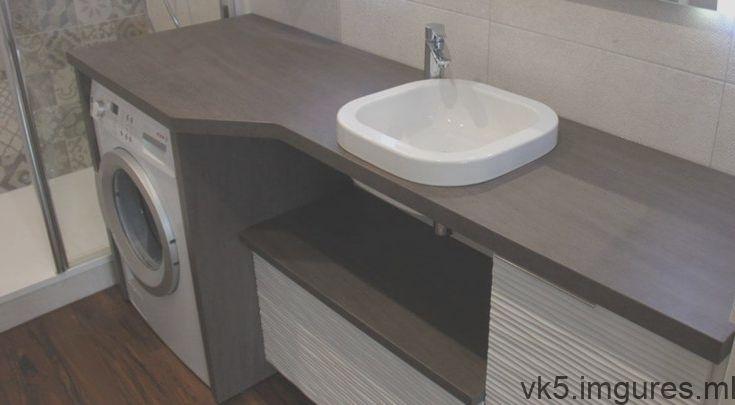 Un Meuble Au Design Moderne Avec Lave Linge Et Panier Integre Avec Images Design Moderne
