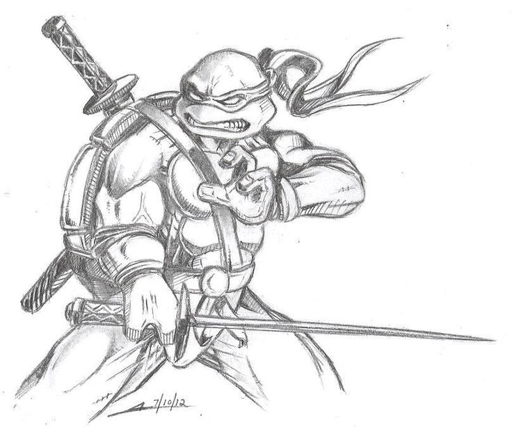 tmnt coloring pages on pinterest - photo#4