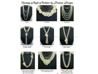 Premier Design - 'Opening Night' Pearl Necklace & Bracelet