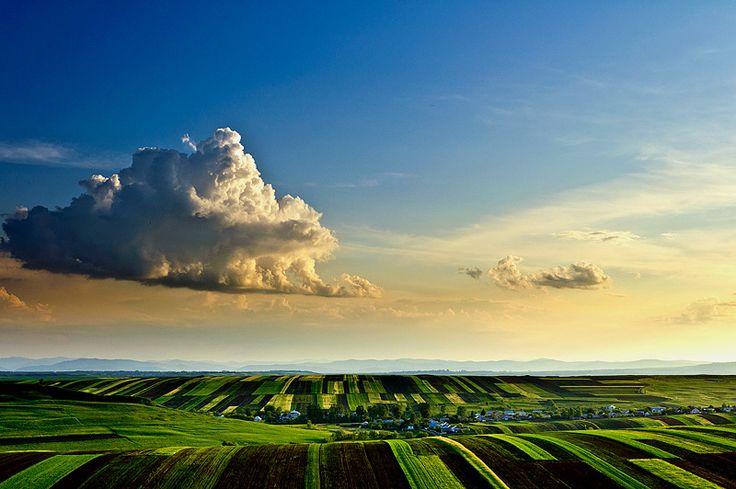 Romanian sky.
