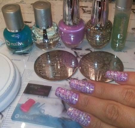 Nailways: HOLOGRAFISCHE SECRET GARDEN GREASER NAGELS