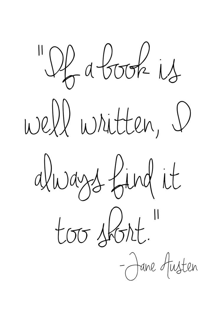 Jane Austin quote - The Blissful Bookworms - A virtual book club for those who love to read! Living Better Together