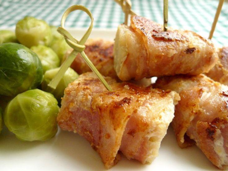 Vis met spek is een smaakvolle combinatie. Met koolvis uit de diepvries en ontbijtspek is het bovendien niet duur!    http://degezondekok.nl