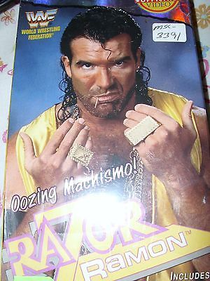 VTG 90s WWF Coliseum Video Razor Ramon Oozing Machismo VHS Tape Wrestling WWE