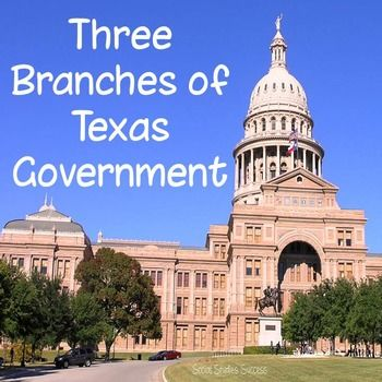 Three Branches of Government for Texas HistoryThe Three Branches of Government Activity is designed to help your students understand one of the key principles of our government  separation of powers. In this activity, students will start with a concept attainment strategy called a Word Splash.