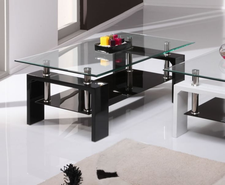 Parma Black High Gloss And Glass Coffee Table   100W X 60D X 38H Cm. Living  Room ... Part 47
