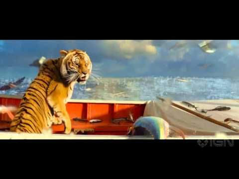 ▶ Life of Pi 2012: A young man who survives a disaster at sea is hurtled into an epic journey of adventure and discovery. While cast away, he forms an unexpected connection with another survivor: a fearsome Bengal tiger. http://www.imdb.com/title/tt0454876/ Review 1: http://www.rogerebert.com/reviews/life-of-pi-2012 Review 2: http://www.telegraph.co.uk/culture/film/filmreviews/9757980/Life-of-Pi-review.html
