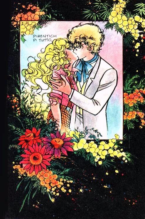 Georgie and Lowell by Mann Izawa•Art of Yumiko Igarashi color sleeve ✤ || ジョージィ! (Jōjī!) • concept art, #shojo clasico #historieta #anime #cartoni #animati #comics #cartoon from the art Yumiko Igarashi || ✤ #Georgie, レディジョージィ Redi Jōjī 1982- Shojo comic >> http://tubiblioteca12.wix.com/sololectores
