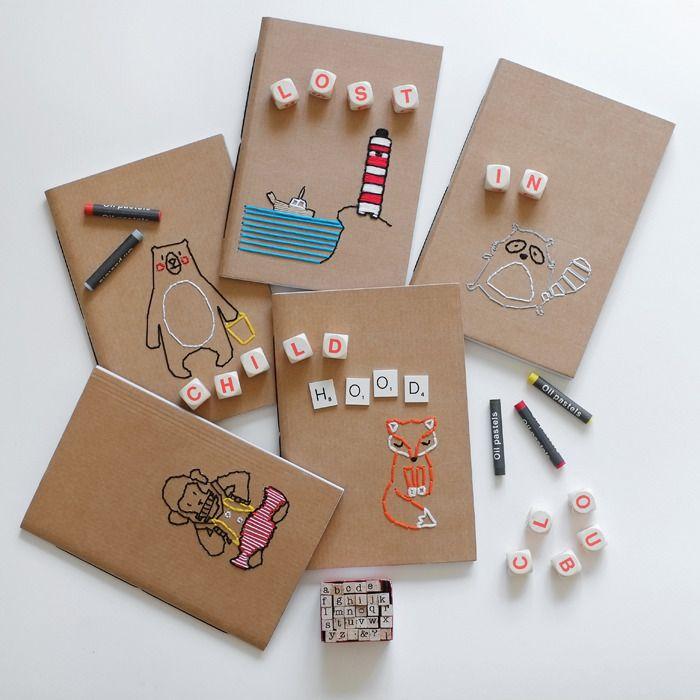 Quaderni fatti a mano, ago e filo e sconfinata poesia: scoprite chi è Fox Craft !