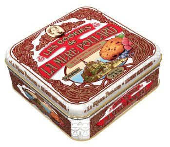 La Mere Poulard - Red Berries Cookies From France - Galettes aux Fruits Rouges, Gift tin 7oz - http://mygourmetgifts.com/la-mere-poulard-red-berries-cookies-from-france-galettes-aux-fruits-rouges-gift-tin-7oz/