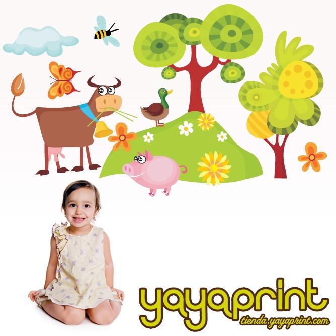 32 best vinilos bebes e infantiles for Fotomurales infantiles