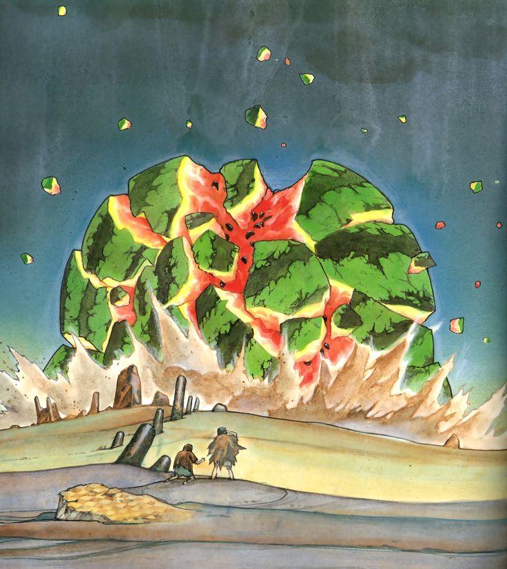 The Watermelon Messiah 4/5 by Katsuhiro Otomo img007.jpg (2847×3200)