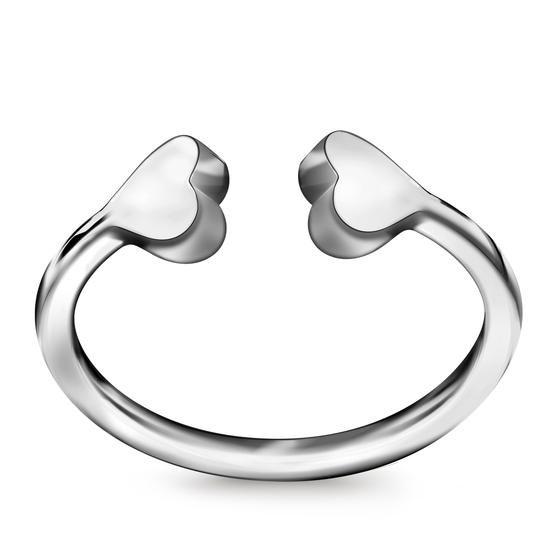 Srebrny Pierścionek TAG ME, 89 PLN, www.YES.pl/56119-tag-me-srebrny-pierscionek-AB-S-000-000-APCL510 #jewellery #Candy #BizuteriaYES #shoponline #accesories #pretty #style