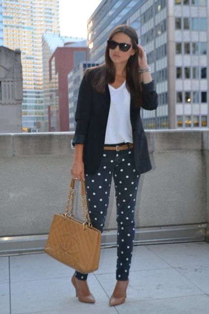 Best 25+ Polka Dot Pants ideas on Pinterest