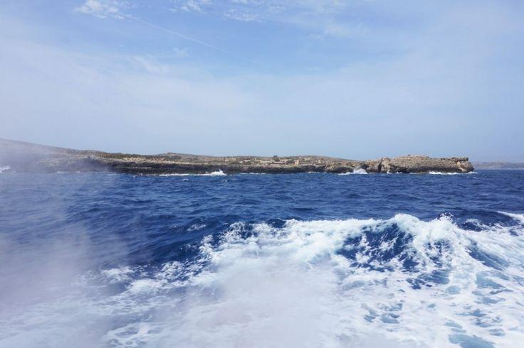 Malta, blue, water, Comino,