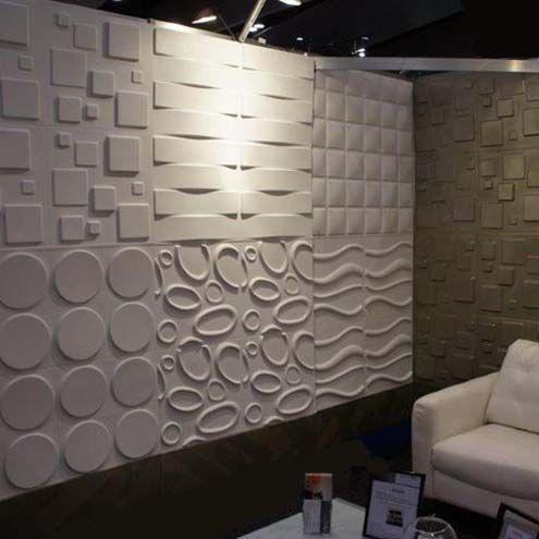 Paneles decorativos para muros wallart 3d en for 3d interior wall murals