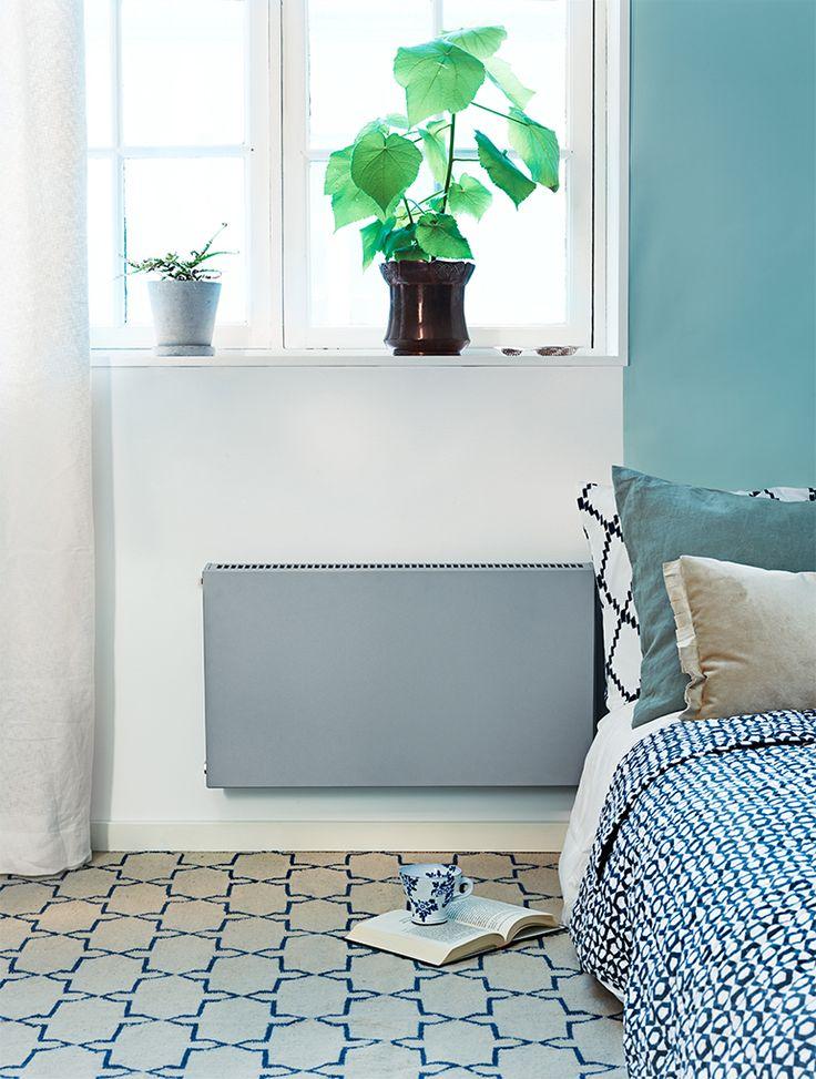 Värme i kedjehus. Radiatorvärme är ett vanligt sätt att värma upp kedjehus med. Radiatorerna är ofta i en standardmodell från samma år som huset byggdes.
