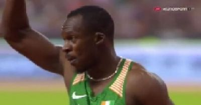 Ben Youssef Beats Collins,jimmy vicaut,Mike Rodgers Men's 100m | Paris…