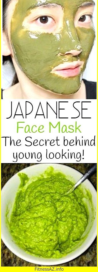 Japanese Face Mask: Do This Once A Week To Look 10 Years Younger ! – FitnessAZ
