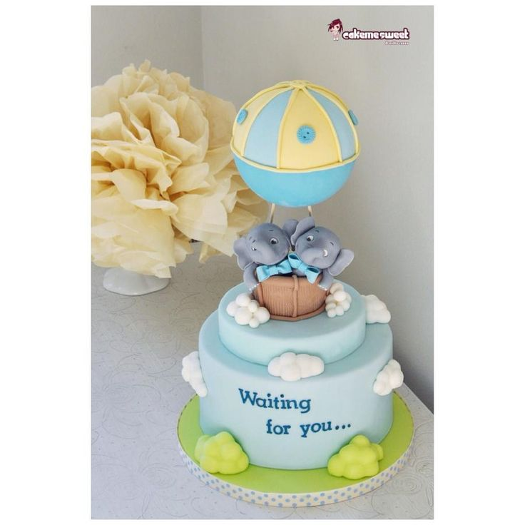 Baby Shower Cake By Naike Lanza