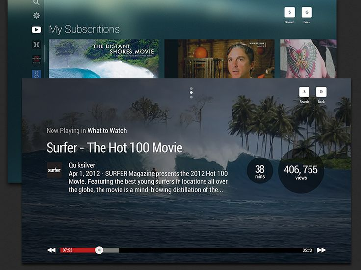 YouTube TV by Marc Hemeon