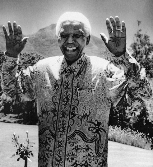 Mr Nelson Mandela by Anton Corbijn. Heaven has a new Angel. His message of forgiveness lives on in our hearts x x x x