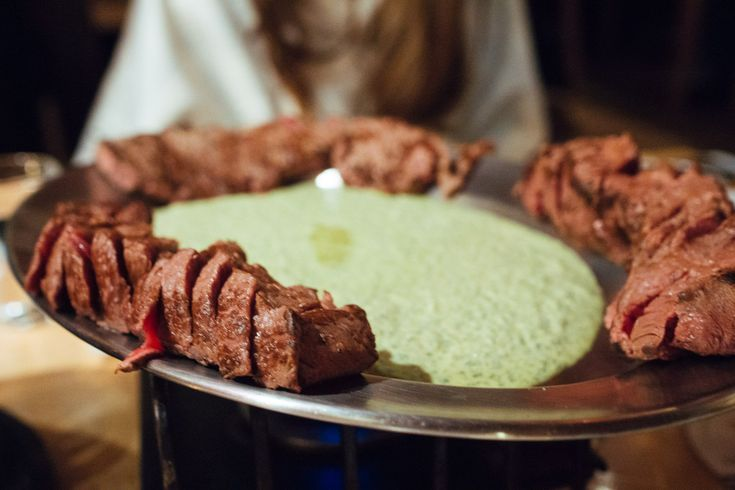 Amsterdam Cray !!! Fondue and Entrecote Steak at Cafe Bern