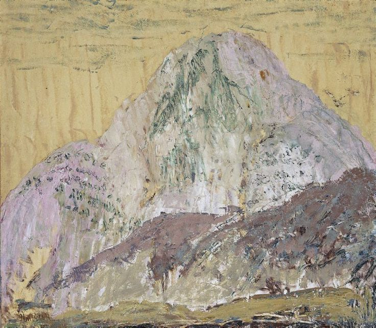 Chinese mountain, (1933) by Ian Fairweather :: The Collection :: Art Gallery NSW