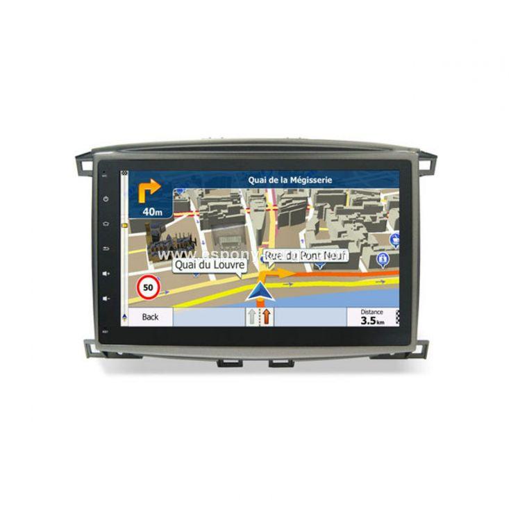 Toyota Land Cruiser 100 Lexus LX470 Gps Navigation Devices