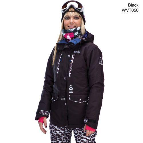 Picture-May-veste-femmeveste-snowboard-Veste-D-039-hiver-De-Ski-Veste-Neuve