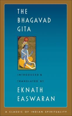 """The Bhagavad Gita, """"The Song of the Lord,"""" is probably the best known of all the Indian scriptures, and Easwaran's clear, accessible translation is the best-selling edition. The Gita opens dramatically, with prince Arjuna collapsing in anguish on the brink of a war that he doesn't want to fight. Arjuna has lost his way on the battlefield of life, and turns to his spiritual guide, Sri Krishna, the Lord himself. Krishna replies in 700 verses of sublime instruction on living and dying, loving…"""