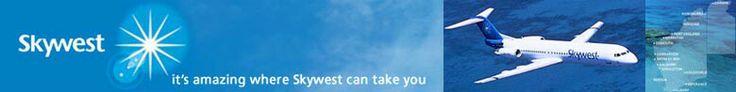 Skywest Airlines, Western Australia, Advert Banner