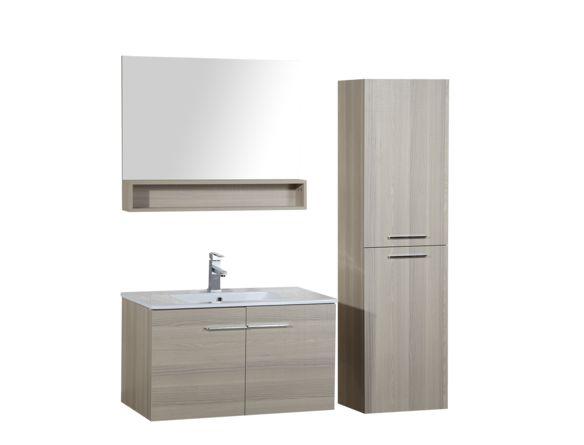 Meuble lavabo suspendu 31 x 18 pouces - Vanité 31-36 pouces - Meubles-lavabos vanités - Mobiliers de salle de bain - Salles de bain - Produits - Bain Dépôt