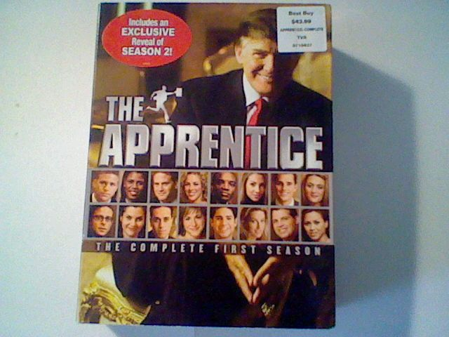 THE APPRENTICE -  COMPLETE FIRST SEASON - President DONALD TRUMP ,12 hours DVD