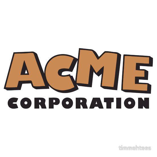 acme corporation logo. acme corporation (orange) acme logo m