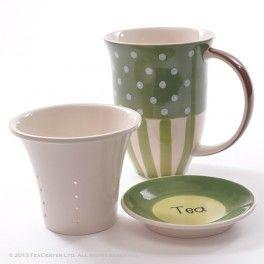 """Linda"" herb tea cup"