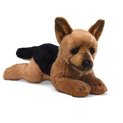 Best Stuff To Buy Images On Pinterest German Shepherds Plush - Dog obsessed with stuffed santa toy gets to meet her idol in real life