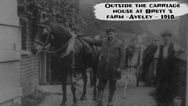 history Aveley Bretts farm old photographs