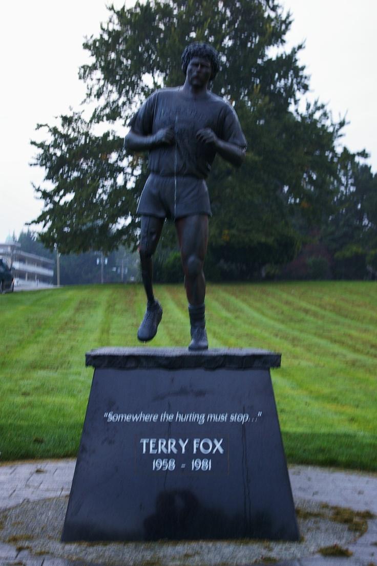 Canadian hero, Terry Fox