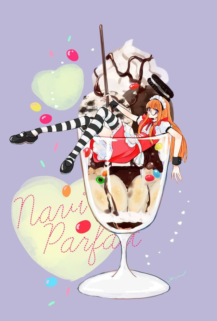 Parfait ♥ Futaba | Persona 5 by @vio_mas on Twitter