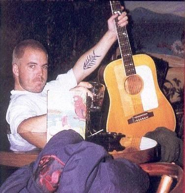 Bradley Nowell of Sublime   February 22, 1968 - May 25, 1996