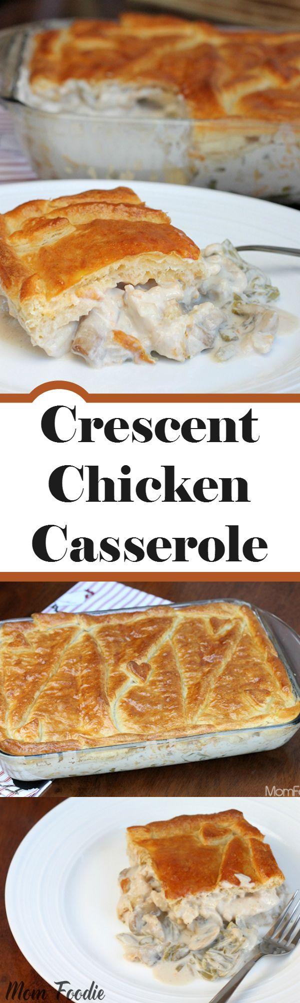 Decadent Chicken Dinner Casserole