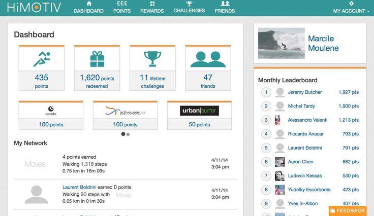 HiMOTIV Rewards - Moves Connected Apps