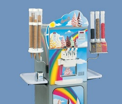 RAINBOW machines are technologically advanced, floor-standing machines specifically designed by Carpigiani for the production of the fascinating ripple style which has proved so popular.
