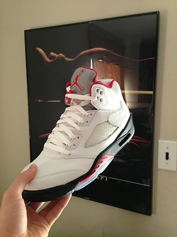 Air Jordan 5 - I want them so bad! One of my favorites of the 5's.