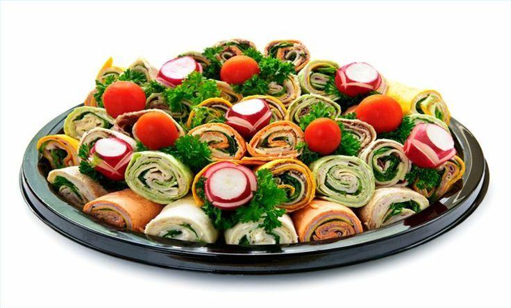 Recipes For Sandwich Party Trays Pinwheel Sandwich Tray