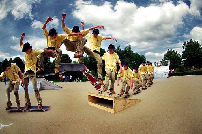 El Skater está relacionado con la cultura callejera.Es desarrollado ccomo expresión corporal ya que cada skater tiene su estilo.