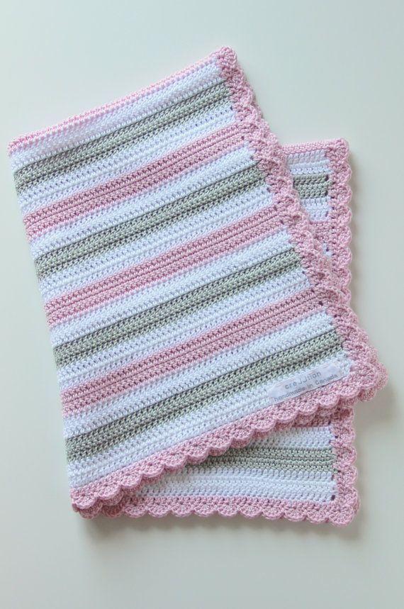 Crochet pattern baby blanket by creJJtion on Etsy, $12.00