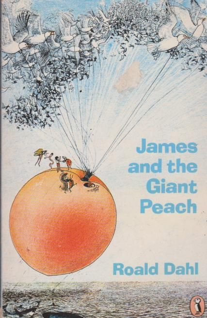 james and the giant peach - this exact cover gives me flashbacks to first grade