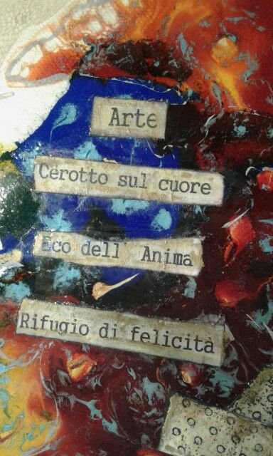 """"""" Art patch on the heart . eco soul haven of hapiness."""" Agosti Terry"""